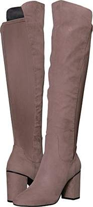 Kenneth Cole Reaction Women's Time Ahead Over The Knee Stretch Boot High Heel Riding