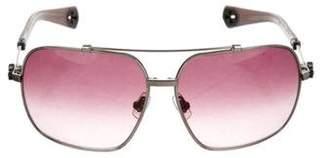 Chrome Hearts Quickie Aviator Sunglasses