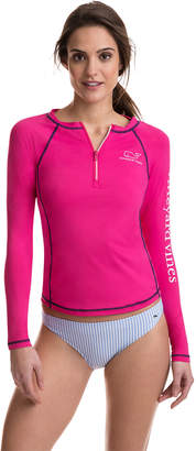 Vineyard Vines Long-Sleeve Whale Rash Guard