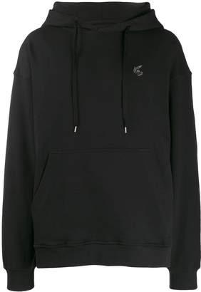 Vivienne Westwood embroidered badge hoodie