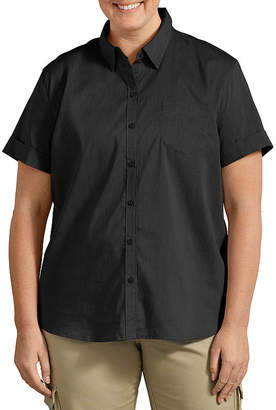 Dickies Short Sleeve Poplin Shirt- Plus