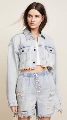 Alexander Wang Denim x Blaze Crop Jean Jacket
