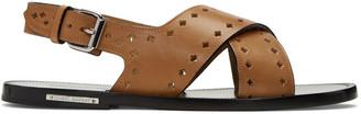 Isabel Marant Brown Jerys Sandals $385 thestylecure.com