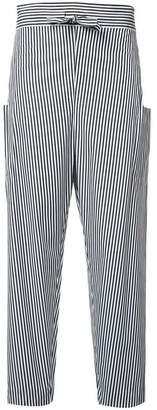 Maison Rabih Kayrouz striped trousers