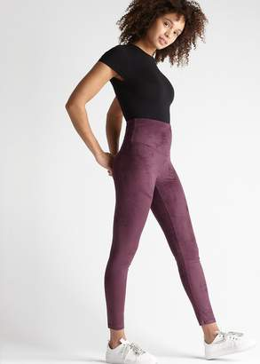 Yummie Faux Suede Shaping Legging