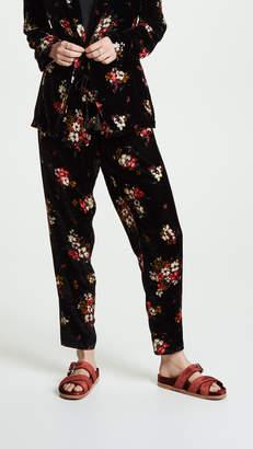 Giada Forte Scented Garden Velvet Pants