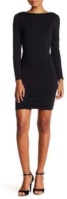 David Lerner Strappy Back 3/4 Sleeve Dress