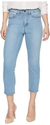 NYDJ Petite Petite Sheri Slim Ankle w/ Fray Hem in Pampelonne Women's Jeans