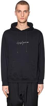 Yohji Yamamoto New Era Embroidery Jersey Sweatshirt