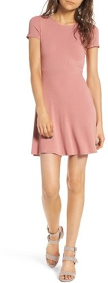 Women's Soprano Crisscross Back Dress $39 thestylecure.com