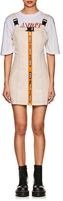 "Heron Preston Women's ""Handle With Care"" Cotton Harness Dress"