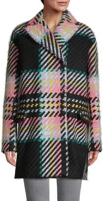 Marina Multicolored Cotton & Wool-Blend Coat