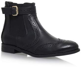 Carvela Black 'Slow' Flat Chelsea Boots