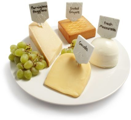 Sur La Table Blanc Round Cheese Platter