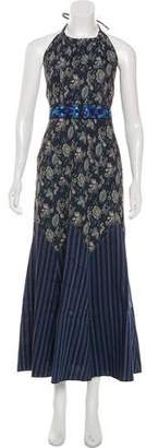 Anna Sui Halter Maxi Dress w/ Tags
