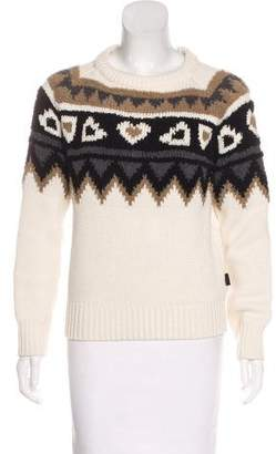 Burberry Wool & Cashmere Patterned Sweater