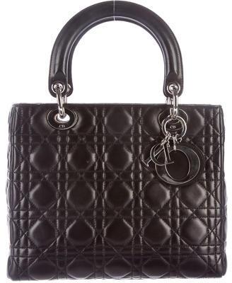 Christian Dior Christian Dior Medium Cannage Lady Dior Bag