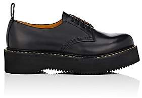 "R 13 Women's ""Stack"" Leather Oxfords - Black"