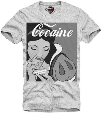 Eleven Paris E1syndicate T-Shirt Snow White Cocaine Boy Grey