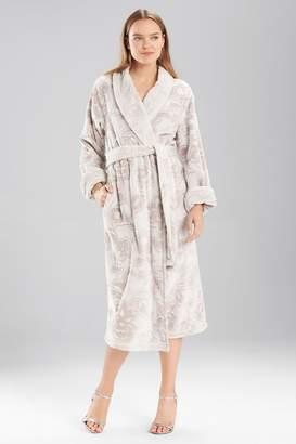 Natori Plush Damask Robe
