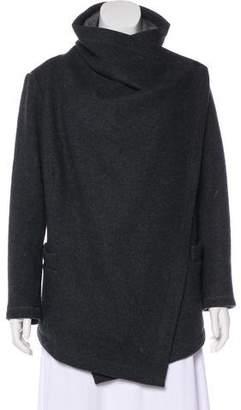 Lafayette 148 Virgin Wool Short Coat