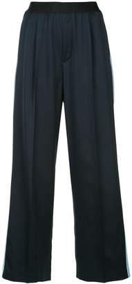 ASTRAET side stripe cropped pants