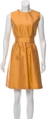 Dolce & Gabbana Silk Mini Dress