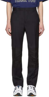 Lanvin Navy Skinny Trousers