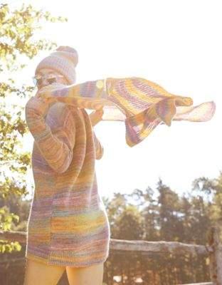 aerie Knit Blanket Scarf