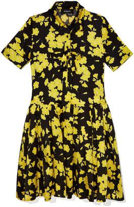 Rochas Mercury Floral Dress
