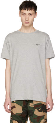 Off-White Off White Grey Arrows Logo T-Shirt