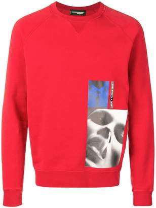 DSQUARED2 x Mert & Marcus 1994 classic raglan sweatshirt