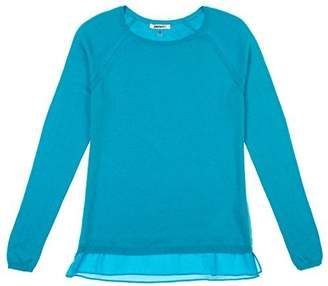 DKNY C Jeans Womens Layered Look Long Sleeve Sweater