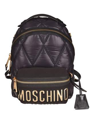 Moschino Front Logo Mini Backpack