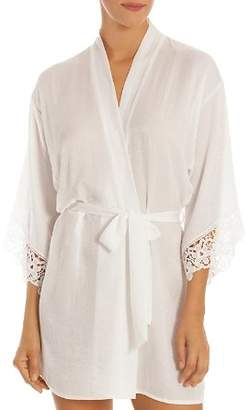 06e96862fa Jonquil In Bloom by Satin   Lace Wrap Robe