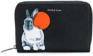 Paul Smith bunny print wallet