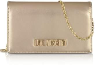 Love Moschino Eco-leather Clutch Bag
