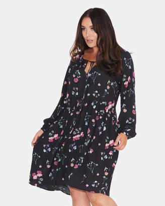 Scatter Floral Boho Dress