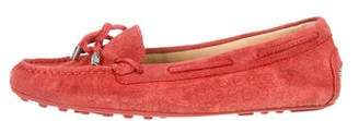 MICHAEL Michael Kors Suede Round-Toe Flats w/ Tags