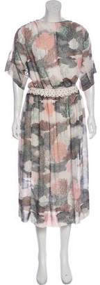 See by Chloe Printed Maxi Dress