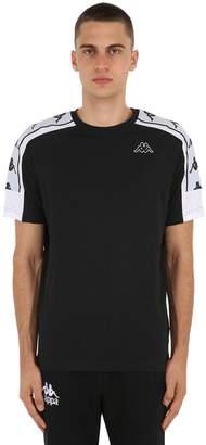 Kappa Cotton Jersey T-Shirt W/ Logo Detail