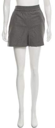 Maison Margiela Wool Mini Shorts