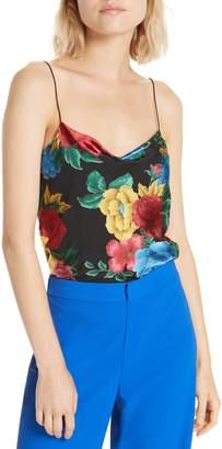 Alice + Olivia Harmon Floral Camisole