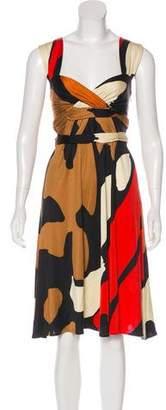 Issa Printed Sleeveless Dress