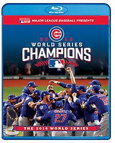 MLB Chicago Cubs 2016 World Series Blu-ray/DVD