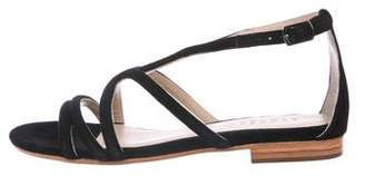 Barneys New York Barney's New York Suede Multi-Strap Sandals
