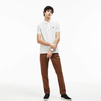 Lacoste Men's Slim Fit Stretch Gabardine Chino Pants