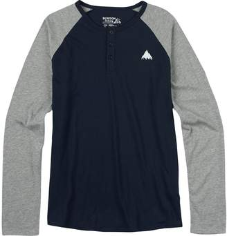 Burton Lifty Henley Slim Fit T-Shirt - Men's