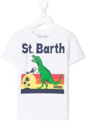 MC2 Saint Barth Kids dinosaur logo T-shirt