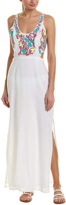 6 Shore Road Shrine Embroidered Maxi Dress